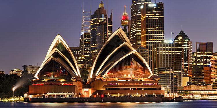 Australia Desde